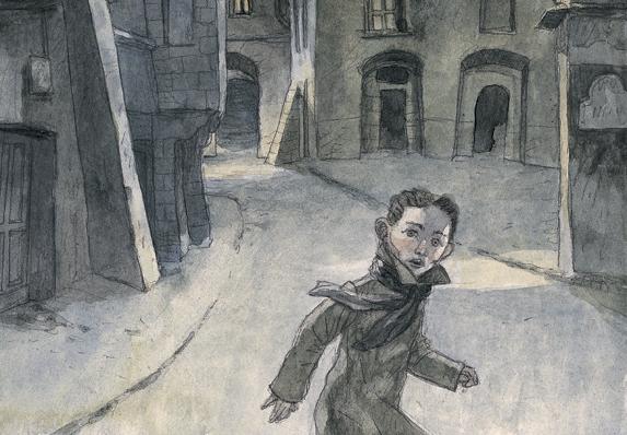 Frantz e il Golem, Irène Cohen-Janca, Maurizio A. C. Quarello - 2016, Orecchio acerbo