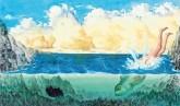 Giuseppe Pitrè, Cola Pesce e altre fiabe e leggende popolari siciliane. Donzelli 2016. Edizione integrale curata da Bianca Lazzaro. Illustrazione di Fabian Negrin