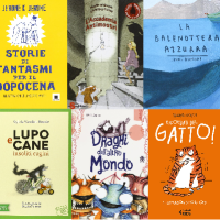 9 libri + 1 da leggere in seconda elementare