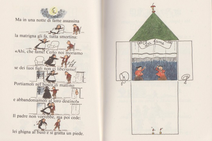 Fiabe per occhi e bocca, di Roberto Piumini, con le illustrazioni di Emanuela Bussolati - Einaudi ragazzi