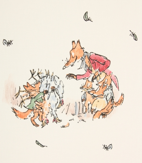Furbo Signor Volpe, Roald Dahl, Quentin Blake, Nord Sud