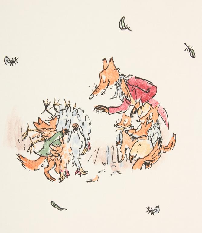 Furbo Signor Volpe, Roald Dahl, Quentin Blake, Nord Sud