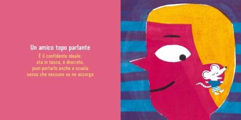 Il libro dei ragali straordinari, di Elisa Géhin, Mandana Sadat, Nathalie Choux e Rémi Saillard 2011, Giralangolo