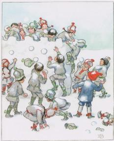 Olly va a sciare, Elsa Beskow, LO editions
