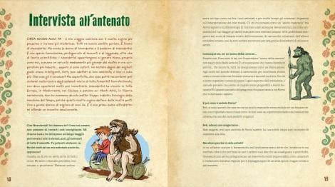 Sulle tracce degli antenati. L'avventurosa storia dell'umanità, di Telmo Pievani, Adriano Gon, Katerina Kalc - 2016 Editoriale Scienza