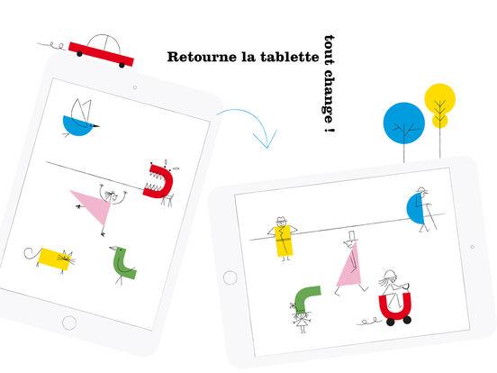 Oh ! L'appli de dessin magique . © Louis Rigaud & Anouck Boisrobert