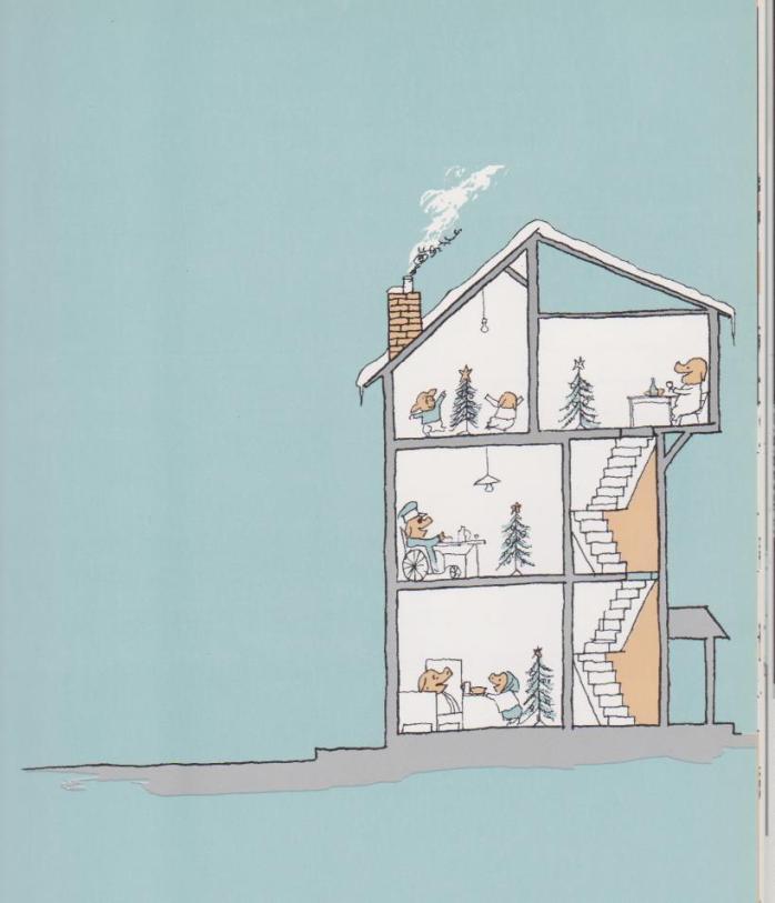 La sera di Natale in casa Mellops, Tomi Ungerer- Donzelli