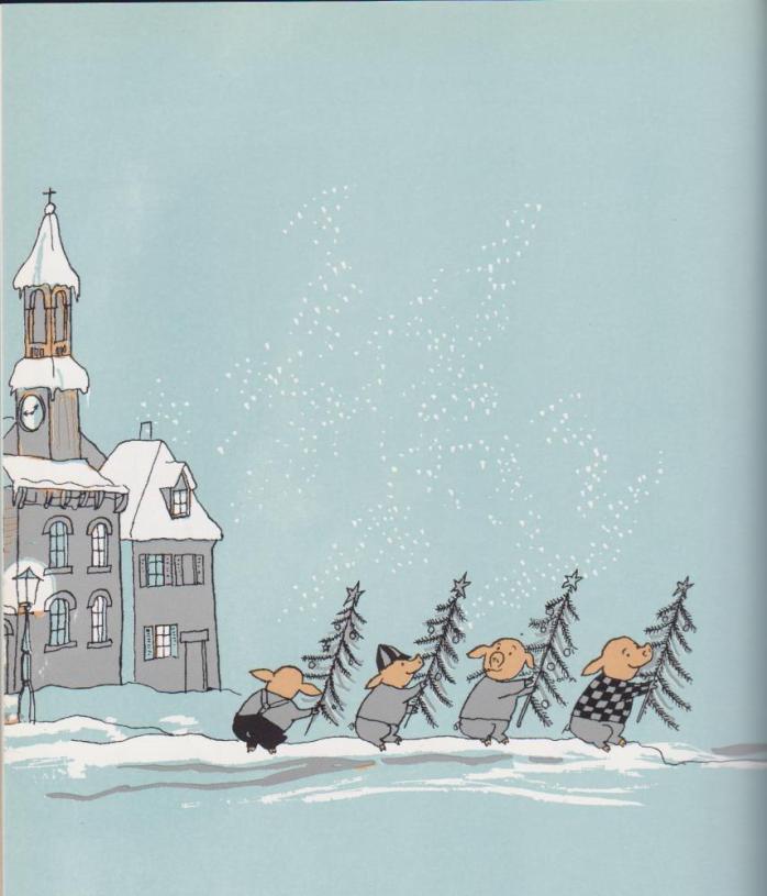 <em>La sera di Natale in casa Mellops</em>, Tomi Ungerer- Donzelli