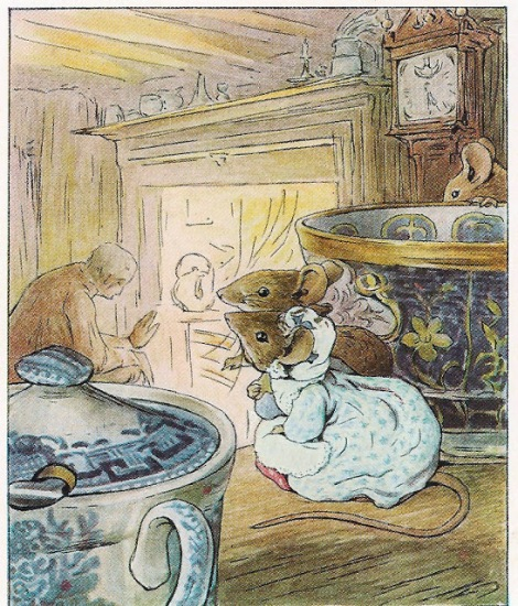 Il sarto di Gloucester, fiaba di Natale, Beatrix Potter - 2015, Interlinea