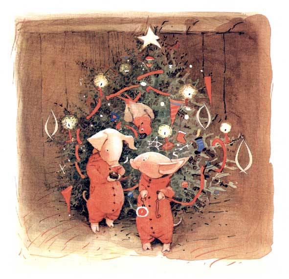 Natale a casa con Toto e Pepe, di Holly Hobbie – 2017 Fatatrac
