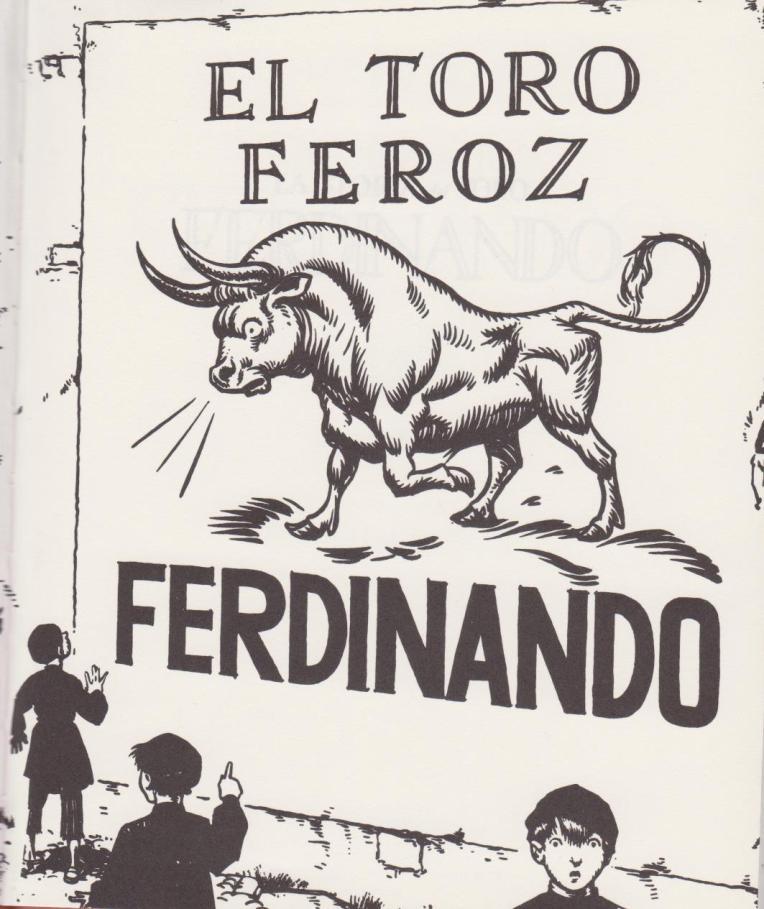 <em>La storia del Toro Ferdinando</em>, di Munro Leaf, Robert Lawson - Fabbri 2017