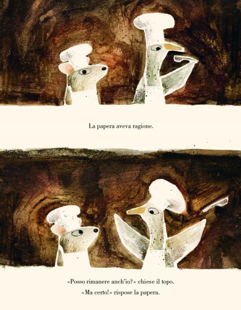 <em>Il lupo, la papera e il topo</em>, di Mac Barnett, Jon Klassen -2018, Mondadori