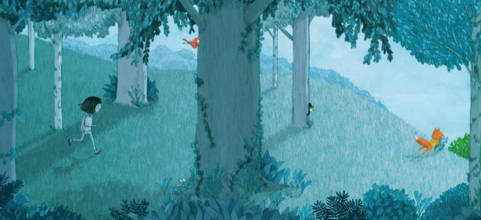 piccola volpe nel bosco magico 3