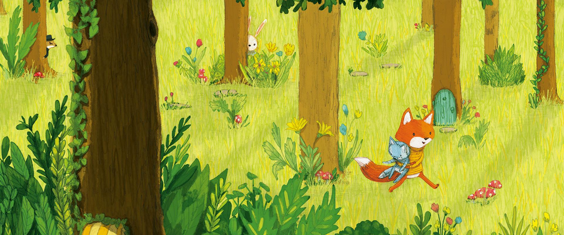 Piccola Volpe nel bosco magico, di Stephanie Graegin - 2018, Terre di Mezzo