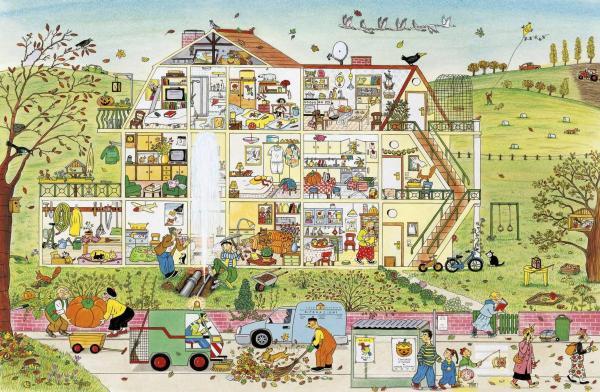 Autunno. I libri delle stagioni, di Rotraut Susanne Berner - 2018, Topipittori
