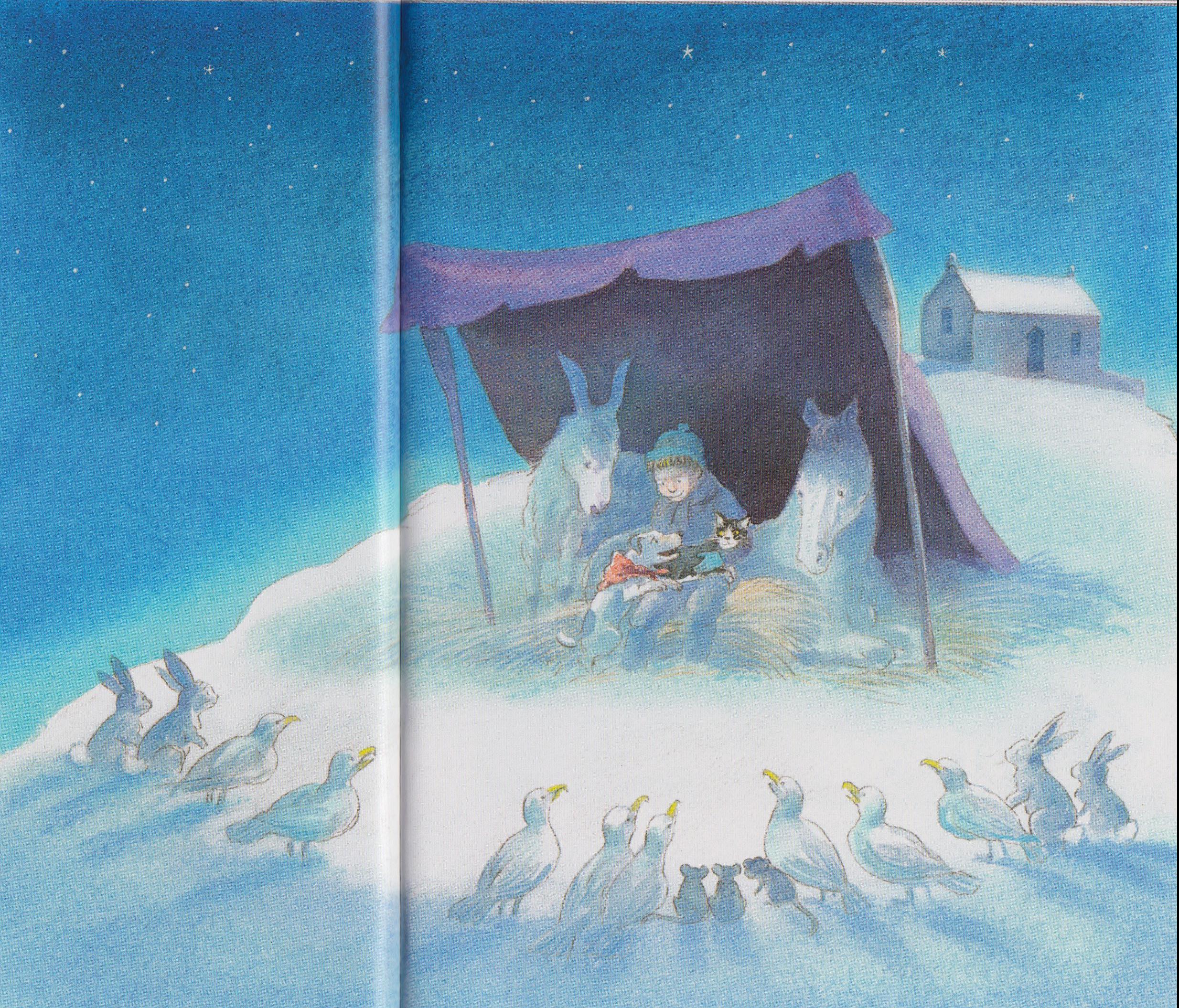 Il gatto sulla collina, di Michael Foreman - 2009, Il Castore