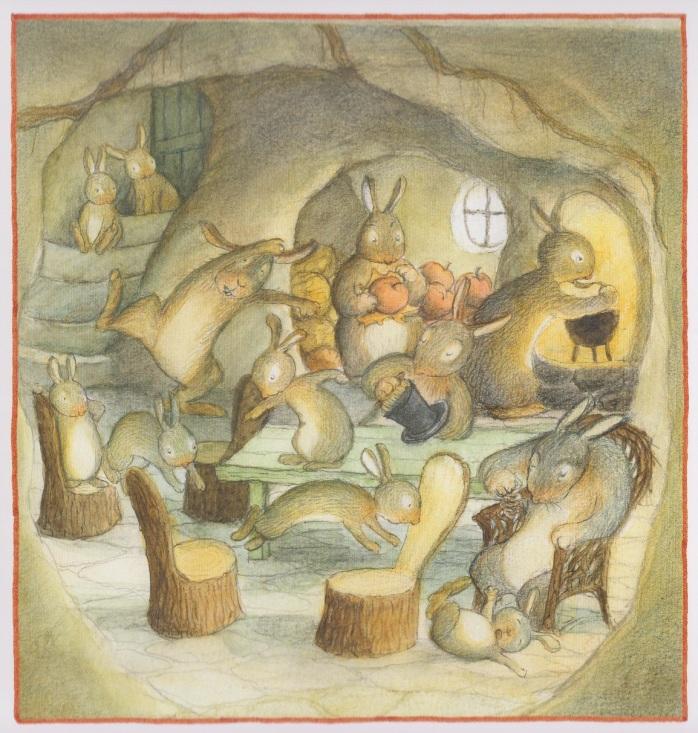 <em>Natale nel Grande Bosco</em>, di Ulf Stark ed Eva Ericksson - 2018, Il gioco di Leggere