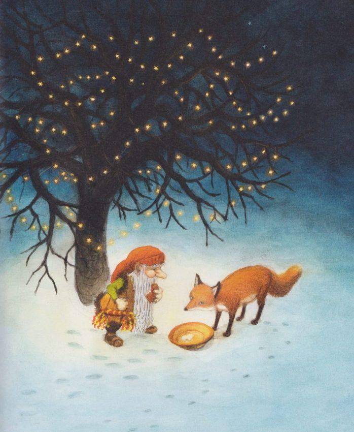 La Volpe e il Tomte, di Astrid Lindgren, Eva Erisson -2018 Il gioco di leggere
