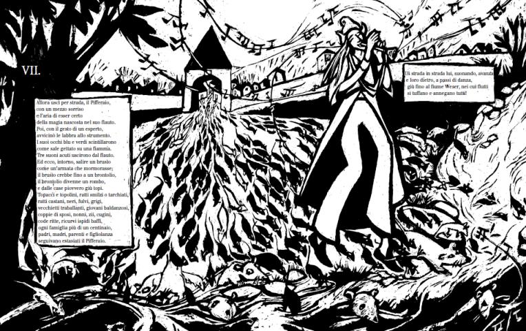 Robert Browning, Il pifferaio magico di Hamelin, illustrazioni di Antonella Toffolo, Topipittori, 2007