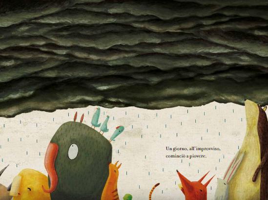 <em>Un pensiero dopo la pioggia</em>, Miguel Cerro - 2018, Kalandraka