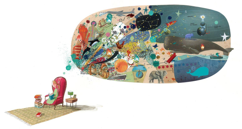 Il cuore e la bottiglia, di Oliver Jeffers - 2019, Zoolibri