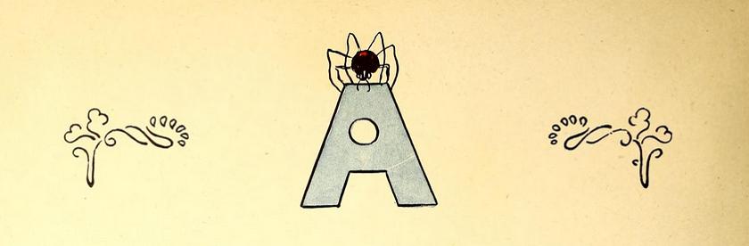 Alphabet Rabier, Benjamin Librairie Garnier Frères, 1900