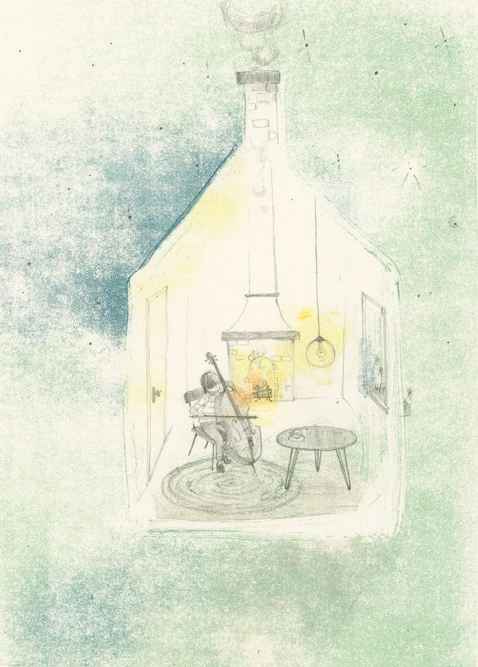 Sonata per la signora Luna, di Philip C. Stead, Erin E. Stead - 2019, Babalibri