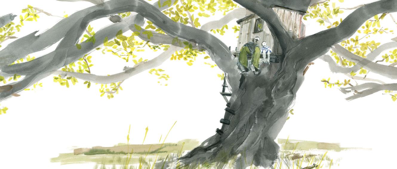 Il nostro albero, di Mal Peet ed Emma Shoard - 2019 Uovonero