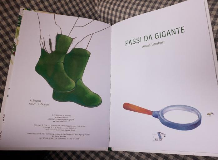 Passi da gigante, di Anais Lambert - 2019 Pulce edizioni