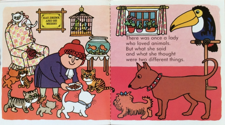 The Lady Who loved Animals, di e illustrato da Pam Adams - 1990, Child's Play (International) Ltd., Londra, UK