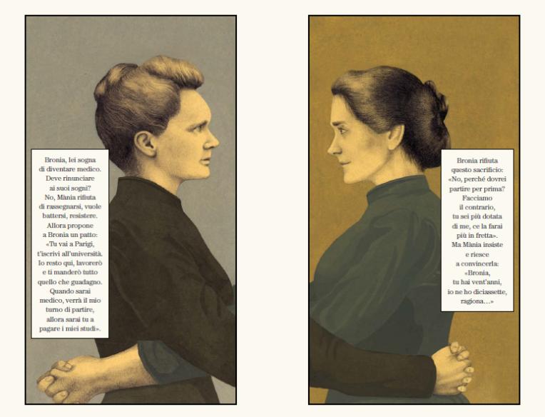 Marie Curie NEL PAESE DELLA SCIENZA, di Irène Cohen-Janca, Claudia Palmarucci - 2019, Orecchio acerbo