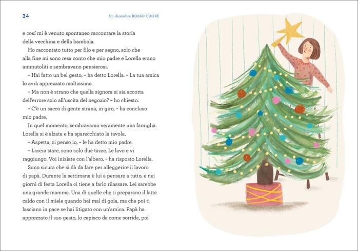 Un dicembre rosso cuore, di Ivan Sciapeconi, illustrato da Nina Masina - 2019 Einaudi Ragazzi