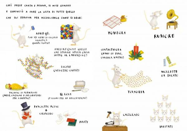 Il Natale del topo che non c'era, di Giovanna Zoboli, Lisa D'Andrea - 2015, Topipittori