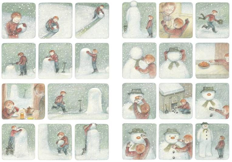 Il pupazzo di neve, di Raymond Briggs - 2019 Rizzoli