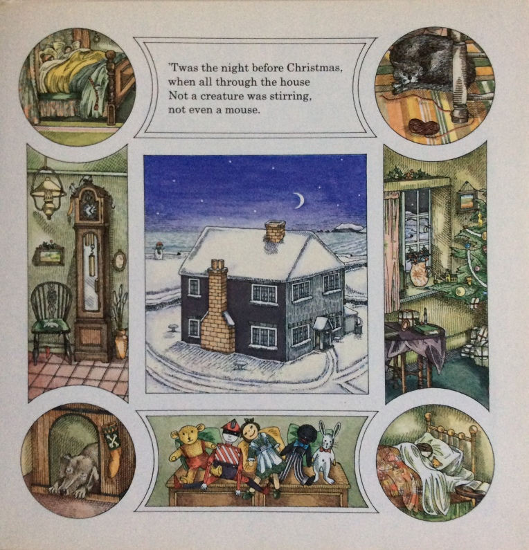 The Night Before Christmas, di Clement Clarke Moore, Elisa Trimbly - 1977, Ernest Benn Limited