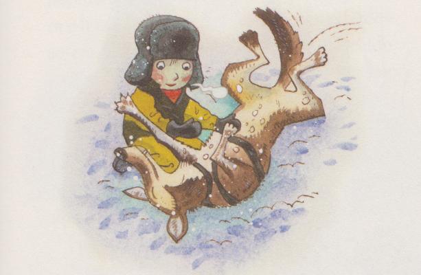 Il bambino che partì per il Nord alla ricerca di Babbo Natale, di Kim Leine, Peter Bay Alexandersen - 2019, Iperborea