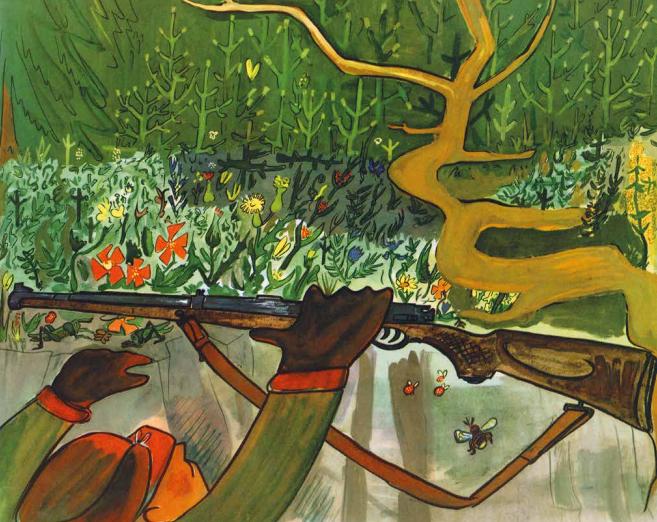 Cerfoglio, di Ludwig Bemelmans - 2020, Lupoguido