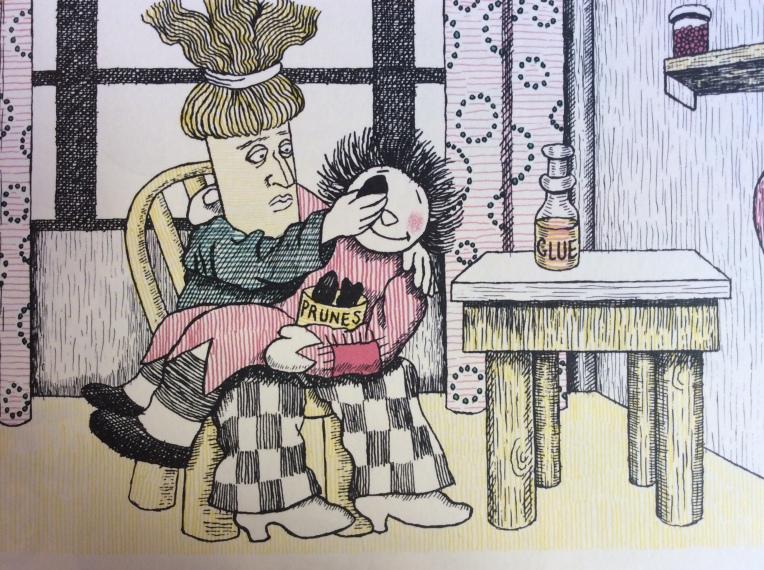 Die Hochzeit von Lumpenpüppchen und Besenstiel und wer alles dabei war, di Carl Sandburg e Harriet Pincus - 1922 Diogenes Verlag, Zürich