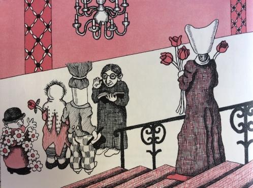 Die Hochzeit von Lumpenpüppchen und Besenstiel und wer alles dabei war, di Carl Sandburg e Harriet Pincus - 2013 Diogenes Verlag, Zürich