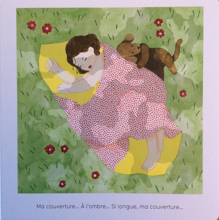 Une sieste à l'ombre, di Françoise Legendre, Julia Spiers - Seuil jeunesse, Parigi, 2019