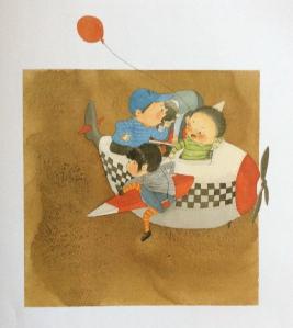 Kai feiji de da tudou, Mei Zihan, illustrato da Bu Jiamei, Jiangsu Shaonian Ertong Press