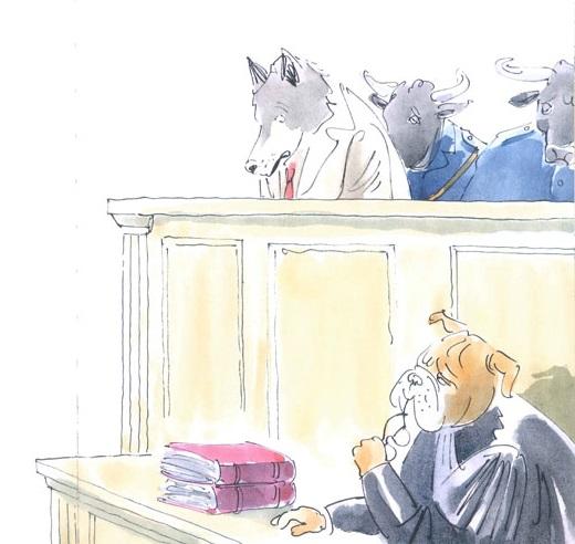 Processo al lupo, di Stéphane Henrich - 2019 Biancoenero